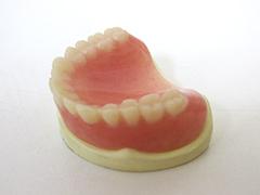 5.完成のプラスチック入れ歯